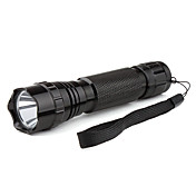 Ultrafire WF-501B UV-395-400nm LED-Taschenlampe (3w, schwarz)