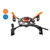 4-Channel 2.4Ghz Mini Remote Control UFO with 6-Axis Gyro (Assorted Colors)