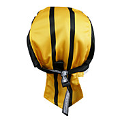 KOOPLUS-Men's 100% Polyester Cycling Headscarf (Yellow)