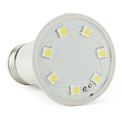 E27 7-LED SMD 5050 70LM 1.9W 220V White LED Spot Light Bulbs