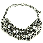 Fabulous Alloy With Rhinestone Women's Necklace