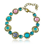 Baroque Style Alloy With Crystal Women's Braclet