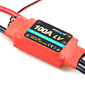 flycolor 100 6s esc de avio com motor brushless (cores aleatrias)