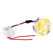 1W 90-100LM Red Light LED Crystal Ceiling Bulb (85-265V)