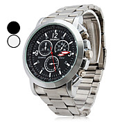 Montre Classique  Quartz pour Homme, Affichage Analogique, en Alliage - Couleurs Assorties