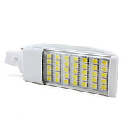 g24 7w 35x5050 SMD 500-550lm 6000-6500K natrliches weies Licht LED-Lampe (220v)