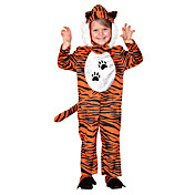 Kid Cute Brown Tiger Polyester Halloween Costume (2-4 YRS)
