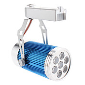 7W 560-600LM 3000-3500K Warm White Light Blue Cover Track Lamp LED Spot Bulb (85-265V)