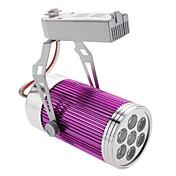 7W 560-600LM 3000-3500K Warm White Light Purple Cover Track Lamp LED Spot Bulb (85-265V)