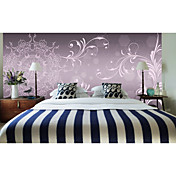 Floral Contemporary Graphics Nature Mural