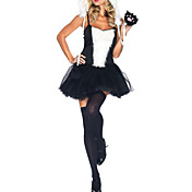 Sexy Adult Women's Playful Panda Dress and Hoodie Halloween Costume(2Pieces)