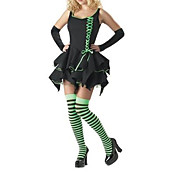 Wizard of Oz - Emerald Witch Adult Halloween Costume (3Pieces)