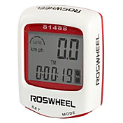 roswheel lcd impermeabile 14 funzioni del computer tachimetro bicicletta bicicletta