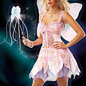 Mágico de Oz Sexy Glinda, a Bruxa Boa Adulto Halloween Costume (3pieces)