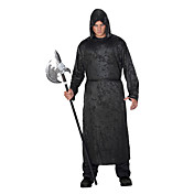 Volwassen Mens Phantom Black Halloween Costume