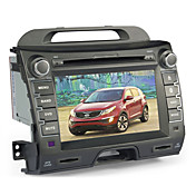 8 pulgadas de coches reproductor de DVD para KIA SPORTAGE (Bluetooth, GPS, iPod, RDS, SD / USB, control del volante, pantalla tctil)