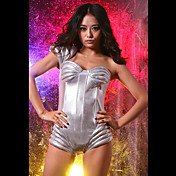 Futuristic Metallic Performer Spandex Sexy Uniform