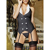 Hot Sexy Office Lady Halloween Costume (2 Pieces)