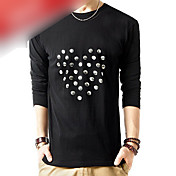 Men's Patch Embroidery T-shirt