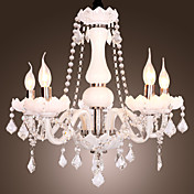 TIGARD - Lustre Cristal com 5 Lmpadas