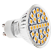 GU10 5W 29x5050 SMD 400-450LM 3000-3500K Warm White Light Bulb Spot LED (110-240V)