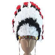 Indian Feather Costumes Headpiece