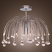 Lmpara Chandelier de Cristal Cromada - OROVILLE