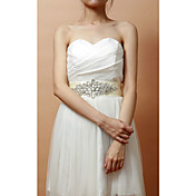 Fabulous Satin/Crystal Women's Wedding/Evening Belt (More Colors)