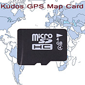 KUDOS Western Europe Map (TF Card-4G)