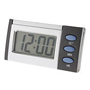 "2.2"" LCD Blue Backlit Talking Time Alarm Clock (2xAA)"