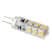 G4 2W 160-180LM 3000-3500K Warm White Light Resin LED Corn Bulb (12V)