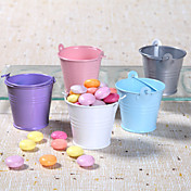 Metal Favor Pail  Set of 12 (More Colors)