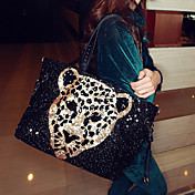 Women's Vintage Sequin Satchel