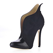 Suede Stiletto Heel Ankle Boots Party / Evening Shoes