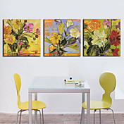 Stretched Canvas Print Still Life Set of 3 1301-0169
