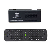 MK808 Android TV Box 1 Go de RAM / disque dur de 8 Go RK3066 cadencé à 1,6 GHz Cortex-A9 dual core 2,4 GHz + RC11 souris sans fil Air Keyboard