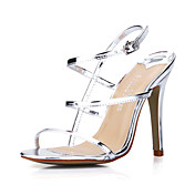 Elegant Patent Leather Stiletto Heel Sandals Party / Evening Shoes(More Colors)