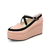 Leatherette Platform Heel Platforms With Buckle Party / Evening Shoes (More Colors)