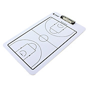 Double-Faced Basketball Coaching Board With 2 Pens & 1 Eraser