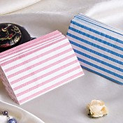 Pretty Stripe Guest Towels - Set of 12 Packs (More Colors)