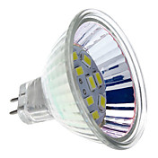 MR16 6W 12x5730SMD 550-570LM 6000-6500K Luz Branca Natural Lâmpada Spot LED (12V)