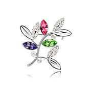 Gorgeous Alloy With Crystal Women's Brooch(More Colors)
