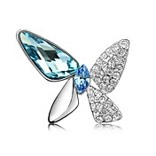 Chic Alloy With Rhinestones / Crystal Brooch (More Colors)