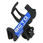 BETO Bicycle Durable Plastic+Steel Water Bottle Cage(Black)BC-105C