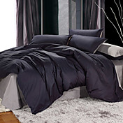 4PCS Maud Double Face Cotton Duvet Cover Set