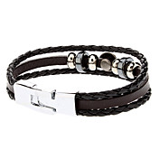 Accessory Elegant Combination Leather Rope Bracelet