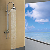 Contemporary Single Lever Rain Shower Faucet(Chrome Finish)