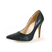 Chic Leatherette Stiletto Heel Pumps With Animal Print Party / Evening Shoes (More Colors)
