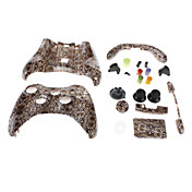 Vervanging Wired Controller Shell voor de Xbox 360 (Snake Skin)