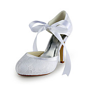 Satin Stiletto Heel pumput Lace Wedding Shoes (More Colors)